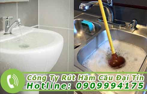 Đại Tín thông bồn rửa mặt - Giải pháp môi trường cho gia đình bạn.