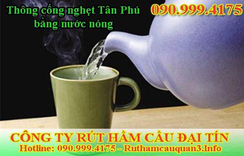 Thông Cầu Cống Nghẹt Quận Tân Phú Giá Rẻ Thợ Giỏi Không Đục Phá