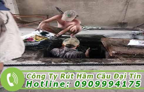 dịch vụ nạo vét bùn đất kênh rạch tại Đại Tín.