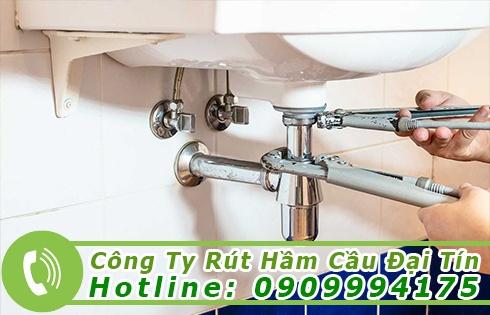 Dịch vụ thông bồn rửa chén bát Sóc Trăng giá rẻ 0909994175