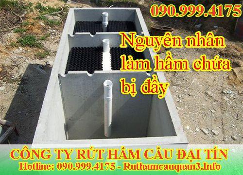 Hút bể phốt tại Sóc Sơn nguyên nhân