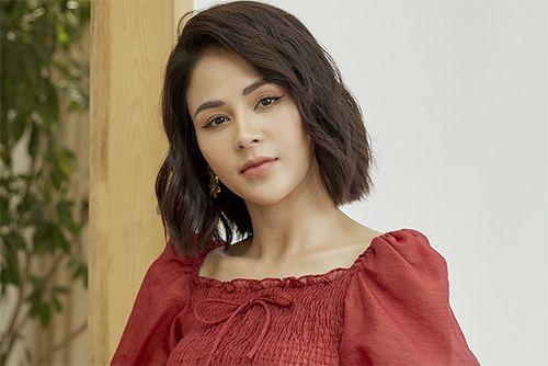 Diễn viên Lương Thu Trang trong phim hướng dương ngược nắng